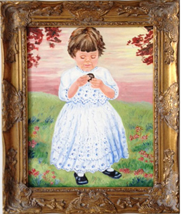 Flo's Baby Portrait