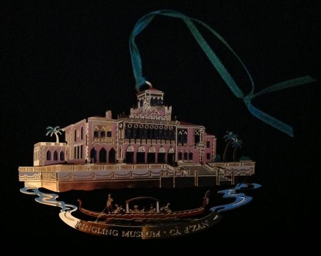 Ringling Mansion in Sarasota, Florida
